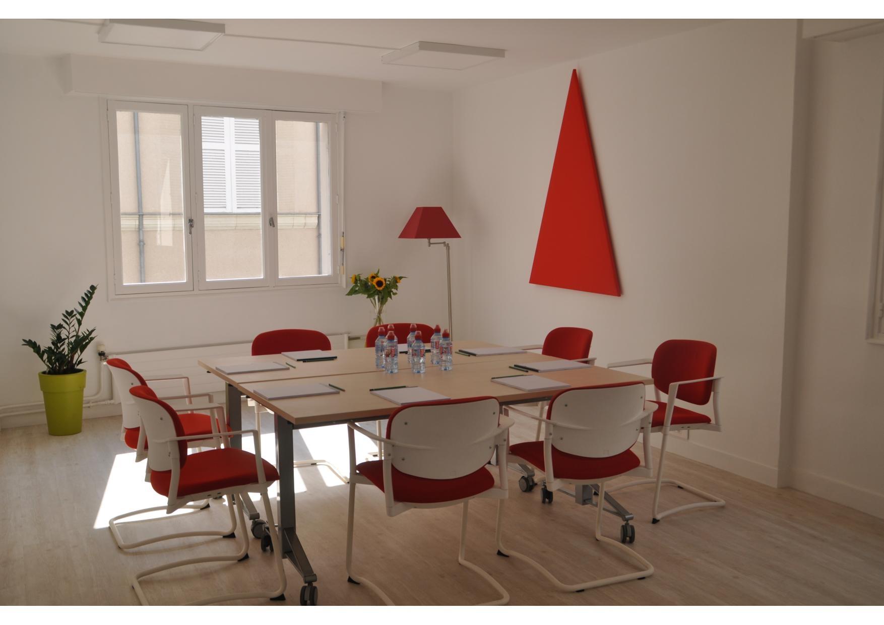 Angers location bureaux locaux reiki feng shui jaune turquoise